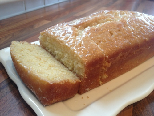 Ma Barnard's Lemon drizzle loaf