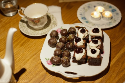 Brownies & truffles