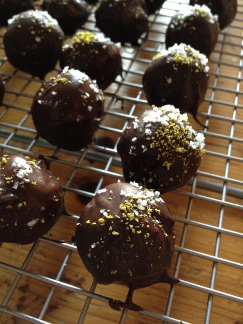 Margarita truffles