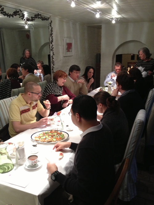 Tea tasting guests