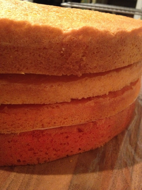 Fade cake