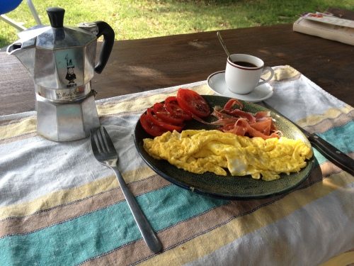 Breakfast #1 after