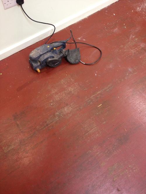 Floor 'before'