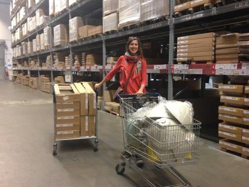 Huge Ikea shop