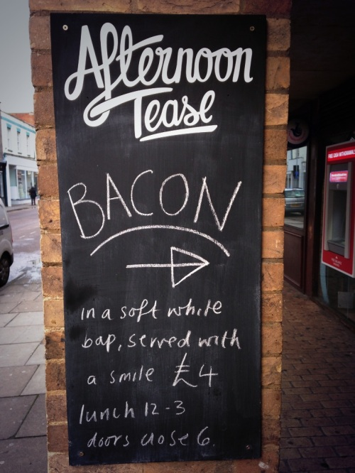 Bacon bap Friday