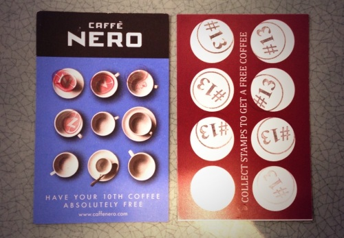 Loyalty cards 2